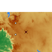 Nearby Forecast Locations - Hassan - Map