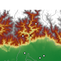 Nearby Forecast Locations - Kalimpong - Map