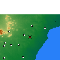 Nearby Forecast Locations - Karaikudi - Map