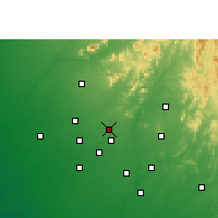 Nearby Forecast Locations - Kheralu - Map