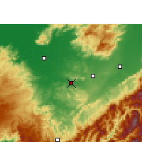 Nearby Forecast Locations - Lumding - Map