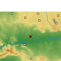 Nearby Forecast Locations - Manawar - Map