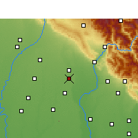 Nearby Forecast Locations - Manglaur - Map