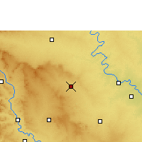 Nearby Forecast Locations - Mhaswad - Map