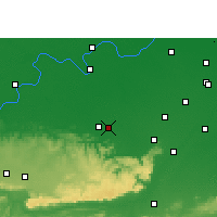 Nearby Forecast Locations - Mohania - Map
