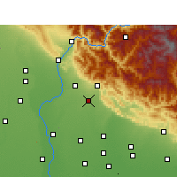 Nearby Forecast Locations - Nagina - Map