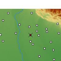 Nearby Forecast Locations - Noorpur - Map