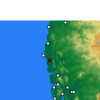 Nearby Forecast Locations - Palghar - Map