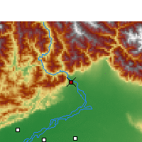 Nearby Forecast Locations - Pasighat - Map