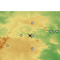 Nearby Forecast Locations - Patratu - Map