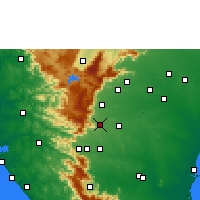 Nearby Forecast Locations - Puliyankudi - Map