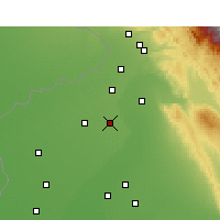 Nearby Forecast Locations - Qadian - Map