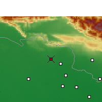 Nearby Forecast Locations - Ramnagar - Map