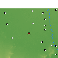 Nearby Forecast Locations - Rohtak - Map