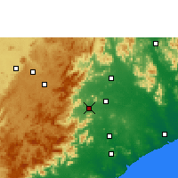 Nearby Forecast Locations - Salur - Map