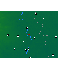 Nearby Forecast Locations - Shantipur - Map