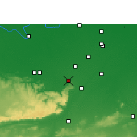 Nearby Forecast Locations - Sasaram - Map