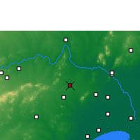 Nearby Forecast Locations - Sattenapalle - Map