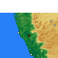 Nearby Forecast Locations - Sawantwadi - Map