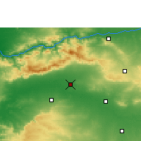 Nearby Forecast Locations - Shahada - Map