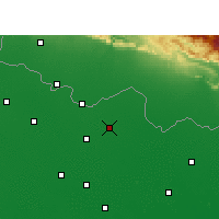 Nearby Forecast Locations - Sitamarhi - Map