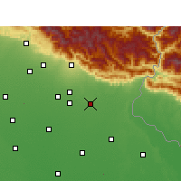 Nearby Forecast Locations - Sitarganj - Map