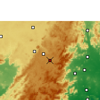 Nearby Forecast Locations - Sunabeda - Map
