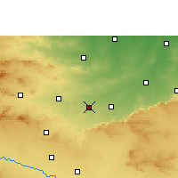 Nearby Forecast Locations - Talode - Map