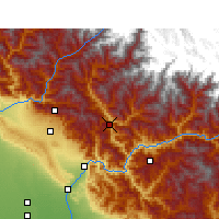 Nearby Forecast Locations - Tehri - Map