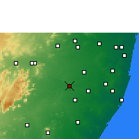 Nearby Forecast Locations - Cheyyar - Map