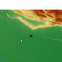 Nearby Forecast Locations - Tulsipur - Map