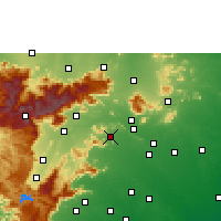 Nearby Forecast Locations - Usilampatti - Map