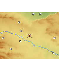 Nearby Forecast Locations - Vaijapur - Map