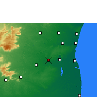 Nearby Forecast Locations - Virudhachalam - Map