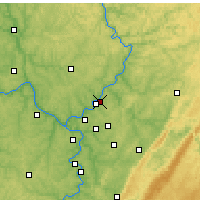 Nearby Forecast Locations - Lower Burrell - Map