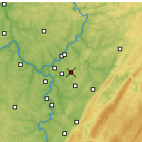 Nearby Forecast Locations - Murrysville - Map