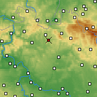 Nearby Forecast Locations - Stráž pod Ralskem - Map