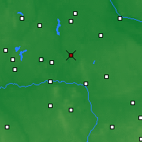 Nearby Forecast Locations - Sompolno - Map