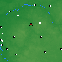 Nearby Forecast Locations - Węgrów - Map