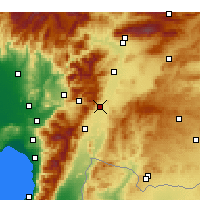 Nearby Forecast Locations - Nurdağı - Map