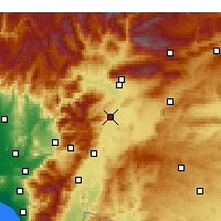 Nearby Forecast Locations - Türkoğlu - Map