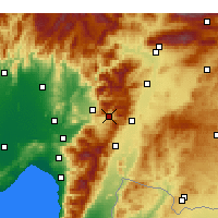 Nearby Forecast Locations - Bahçe - Map