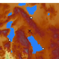 Nearby Forecast Locations - Şarkikaraağaç - Map
