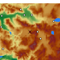 Nearby Forecast Locations - Tavas - Map