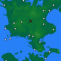 Nearby Forecast Locations - Ringsted - Map