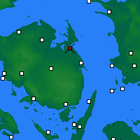 Nearby Forecast Locations - Kerteminde - Map