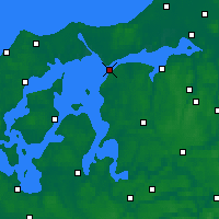 Nearby Forecast Locations - Løgstør - Map