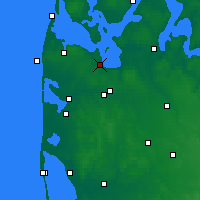 Nearby Forecast Locations - Struer - Map