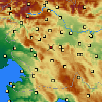 Nearby Forecast Locations - Logatec - Map