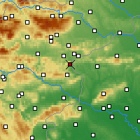 Nearby Forecast Locations - Podčetrtek - Map